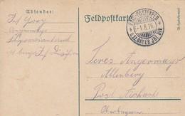 Feldpostkarte 11. Bayer. Inf. Div. Nach Aichach - 1916  (47146) - Allemagne