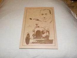 VAINQUEUR GRAND PRIX DE MONACO R.DREYFUS SUR BUGATTI 35 B 1930 - Grand Prix / F1