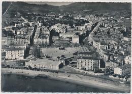 CORSE CPSM Dentelée En Avion Au-dessus D' AJACCIO  - Le Casino Et Place De Gaulle - Ajaccio