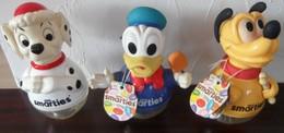 Lot De 3 Bonbonnière Tirelire Smarties Nestlé Disney Donald - Chocolat