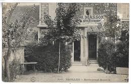 BOIS LE ROI - BROLLES - Restaurant Masson - Bois Le Roi