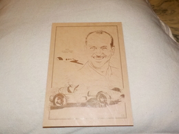 VAINQUEUR GRAND PRIX DE MONACO M.TRINTIGNANT SUR FERRARI 625 1955 - Grand Prix / F1