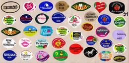 Etiquettes De Fruits °_ Toutes Différentes Sur Papier Siliconé-feuillet N° 91 - Fruits Et Légumes