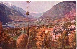 ST. VINCENT (m. 575 S.m.) - Panorama E Conca Della Dora - Formato Piccolo - Italia