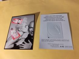 1 X  Carte  Lavec  Patch  Jean Paul Gaultier Recto Verso - Cartes Parfumées