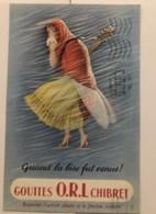Publicité Pharmaceutique - Pharmacie - Gouttes ORL Chibret - Publicités
