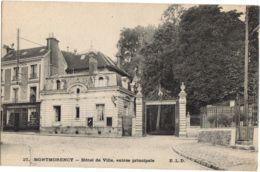 27- Montmorency - Hotel De Ville, Entrée Principal -- E.L.D - Chausures Mallard - Montmorency