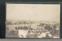 Carte Photo Chalon Sur Saone - Inondations 1910 - N° 12 - Barthélemy - Non Circulée - Chalon Sur Saone