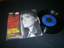 EP  45tours Chanteuse Sandie SHAW Le Temps Des Fleurs - Collector's Editions