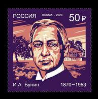 Russia 2020 Mih. 2822 Nobel Laureates. Writer Ivan Bunin MNH ** - Unused Stamps