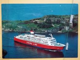 KOV 480-4 - SHIP, BATEAU, VIKING LINE STOCKHOLM - HELSINKI, 1200 PASSENGERS - Bateaux