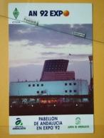 KOV 480-4 - SHIP, BATEAU, KENWOOD, PABELLON DE ANDALUCIA, EXPO 92, RADIO AMATEUR - Barcos
