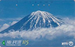 Télécarte JAPON / NTT 290-047 - MONT FUJI / TBE - Mountain JAPAN Phonecard - Volcans