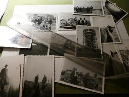 14 Photos Construction Chateau D'eau Souvenir De Juzaine (Bomal Durbuy) - Années 1930 - Travaux Publics