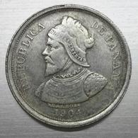 Riproduzione Di Moneta REPUBBLICA PANAMA 5 MARK DEUTSCHES REICH 1903-1904 (pos.A10.62) NO ARGENTO, FAKE, FALSE - Panama