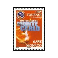 Timbre N° 2534 Neuf ** - Sport. Tennis. 100ème Tournoi Master Séries à Monté-Carlo 15-13 Avril 2006. - Unused Stamps