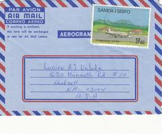 SAMOA       AEROGRAMME F - Samoa