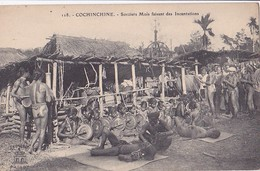 Cochinchine  Sorciers Moïs Faisant Des Incantations  - Bon état - - Vietnam