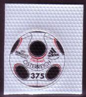 Austria MNH Adidas Soccer Football - Printed On Polymer Plastic - Unusual - 2001-10 Ungebraucht