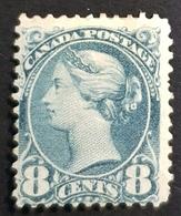 1893 Queen Victoria, 8c, Canada, MLH - Ungebraucht