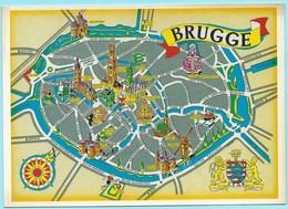 0531 - BELGIE - BRUGGE - MAP - Mapas