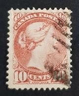 1870-1894 Queen Victoria, 10c, Canada, Used - Ungebraucht