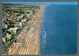 °°° Cartolina - Riccione Dall'aereo Panorama Viaggiata °°° - Rimini