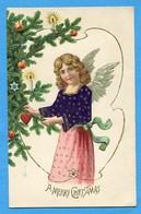 Angelo Ange Engel Angel Sapin De Noel (relief) - Angeli