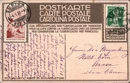 ! 1913 Karte Aus Zürich Nach Arosa, Schweiz Mit Pro Juventute Vorläufer, Precurseur - Suisse
