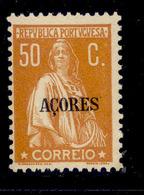 ! ! Azores - 1930 Ceres 50 C - Af. 304 - MH - Açores