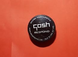 "Boite Metal :"" Collection GOSH RESPOND ""  Boite Clic-clac Genre Pilullier ??? Voir 3 Photos - Dozen"