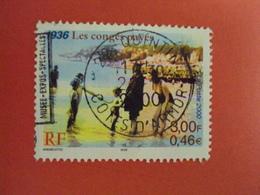 "2000-2009- Oblitéré N°   3352  ""  Les Congés Payés ""    Net 0.40   Photo  1 - France"