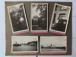 Photo Ancienne  (10)  Calais 62 , Vapeur Pytheas, Gare Maritime - Bateaux