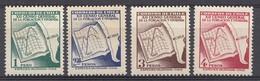 CHILI 1953 Mi.nr. 475-478 Volkszählung  NEUF Sans CHARNIERE / MNH / POSTFRIS - Cile