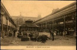 BRUXELLES : Le Marché Aux Poissons / La Vismet - Marchés