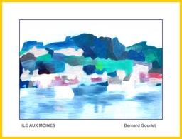 Ile Aux Moine - Pastel
