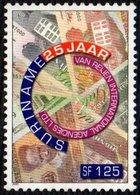 SURINAME 2000 - 25th ANNIVERSARY OF THE INTERNATIONAL AGENCIES Ltd. AS PHILATELIC AGENT - MINT - Filatelia & Monete