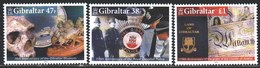 Gibraltar. 2005. 1130-32. 175 Years Of The Gibraltar Police, Skull. MNH. - Gibilterra