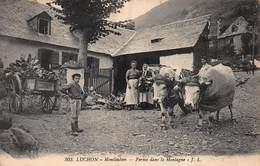 CPA LUCHON - Montauban - Ferme Dans La Montagne - Montauban