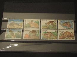 GRENADA - .1990 FAUNA  4 + 4 VALORI  - NUOVI(++) - Grenada (1974-...)