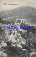 129348 ITALY RUTA PORTOFINO KULM & OLD TRAFFIC LIGHT CIRCULATED TO ARGENTINA POSTAL POSTCARD - Italia