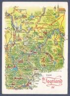 Germany / Das Vogtland (Sachsen Und Thüringen) - Landkarte - Landkarten