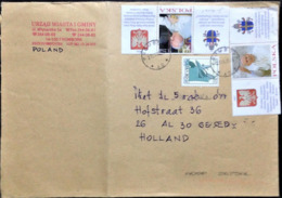 """Poland, Circulated Cover To Netherlands, """"Famous People"""", """"John Paul II"""", """"Popes"""", 2005 - 1944-.... Repubblica"""