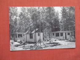 RPPC Conradsen's Cabine Land O' Lakes  Wisconsin >       Ref 3885 - Otros