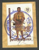 PAPUA NEW GUINEA. MILITARY / UNIFORMS. FOX WELDING CACHET. USED - Papua New Guinea