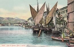 SALò-BRESCIA-LAGO DI GARDA-IL PORTO-CARTOLINA NON VIAGGIATA -DATATA AL RETRO 8-11-1917 - Brescia