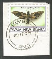 PAPUA NEW GUINEA. BUTTERFLIES. KIMBE POSTMARK. USED - Papua New Guinea