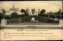 BRUXELLES : Jardin Botanique, Terrasse Des Statues - Forêts, Parcs, Jardins
