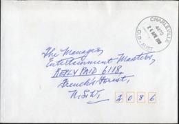 CHARLEVILLE, QLD 4470 Clean Cover Complete CIRCULAR Postmark 24 APR 2018 - 2010-... Elizabeth II