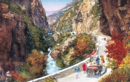 06 - Alpes Maritimes -  GORGES DU LOUP -   La Route Et Le Loup - Illustrateur - Francia